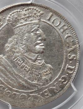 """Na naszej 1-szej Aukcji """"Numizmatyka"""" – ort Gdański Jana Kazimierza rok 1658"""