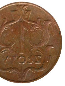 Fałszerstwa – Matryca do odlewu złotówki 1929