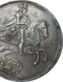 """Na naszej 1-szej Aukcji """"Numizmatyka"""" – Talar wikariacki 1711 rok"""