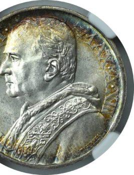 """Na naszej 1-szej Aukcji """"Numizmatyka"""" – 10 lirów z 1934 roku!"""
