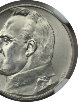"""Na naszej 1-szej Aukcji """"Numizmatyka"""" – 5 złotych 1934! NGC MS 66!"""