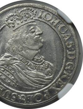 """Na naszej 1-szej Aukcji """"Numizmatyka"""" – ort Jana Kazimierza 1660 rok/Gdańsk"""