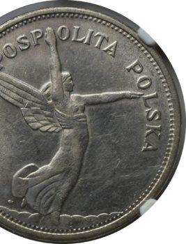 """Na naszej 1-szej Aukcji """"Numizmatyka"""" – 5 złotych 1930, NGC AU58!"""