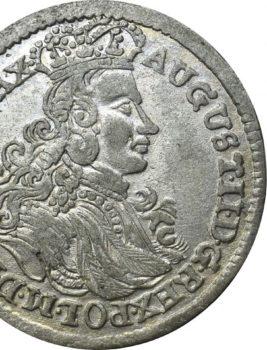 """Na naszej 1-szej Aukcji """"Numizmatyka"""" – Szóstak 1706 L-P! Piękny!"""
