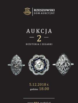 """Na naszej 2-giej Aukcji """"Biżuteria i Zegarki"""" – Zapraszamy do rejestracji i udziału!"""