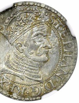 """3 Aukcja """"NUMIZMATYKA"""" – gorsz z 1579 roku! Piękny!"""