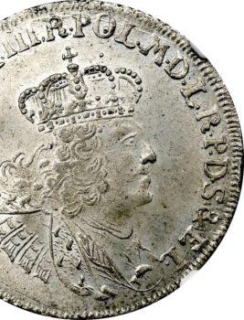 """Na naszej 3 Aukcji """"Numizmatyka"""" – złotówka gdańska 1762 Augusta III Sasa"""